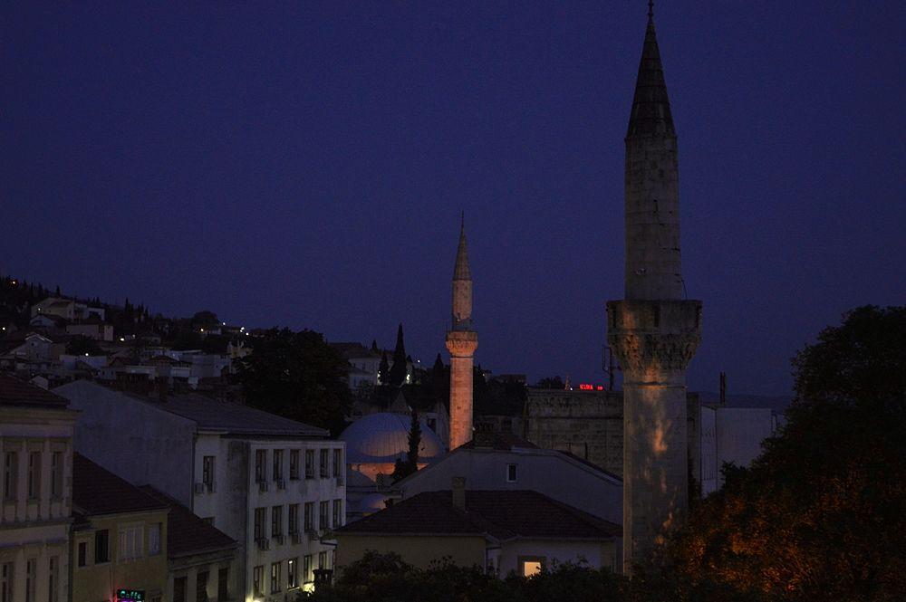 Di notte a Mostar © Angela Capurso