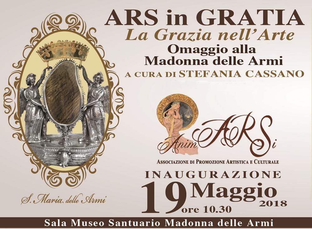 Ars in Gratia (Cerchiara di Calabria 19 maggio - 18 giugno)