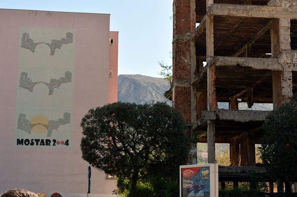 Mostar, le tracce della guerra © Angela Capurso