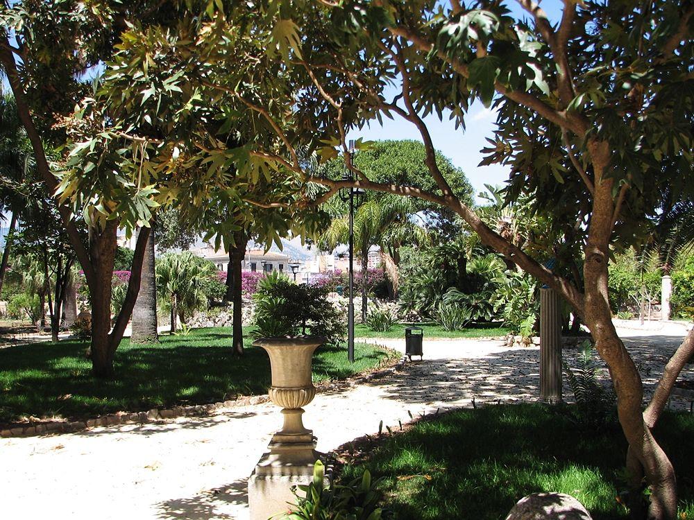 Scorcio dei Giardini Reali, Palazzo dei Normanni, Palermo | Image by Fondazione Federico II