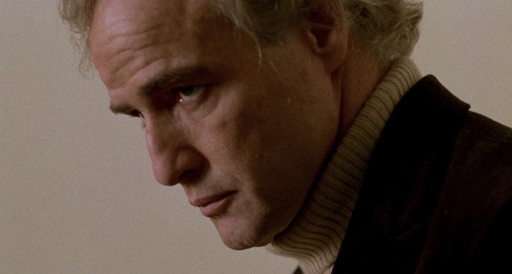 """Marlon Brando in una scena di """"Ultimo tango a Parigi"""""""