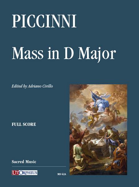 Prima edizione moderna a stampa della Messa in Re Maggioredi Niccolò Piccinni
