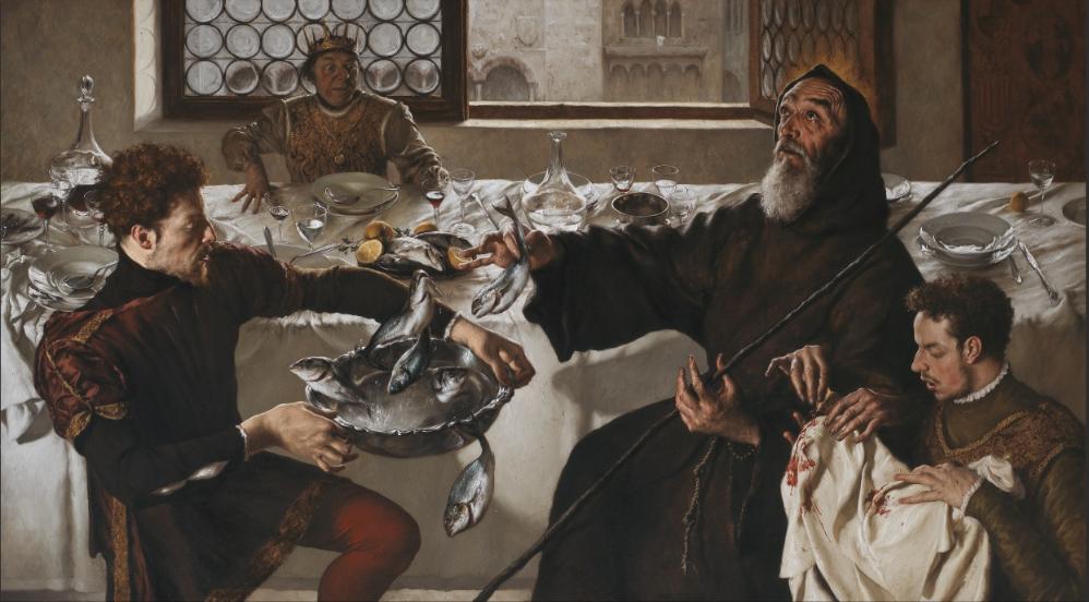 I miracoli di S. Francesco di Paola Roma, 2015, Collezione Roberto Bilotti Ruggi d'Aragona © Archivio dell'Arte / Luciano Pedicini