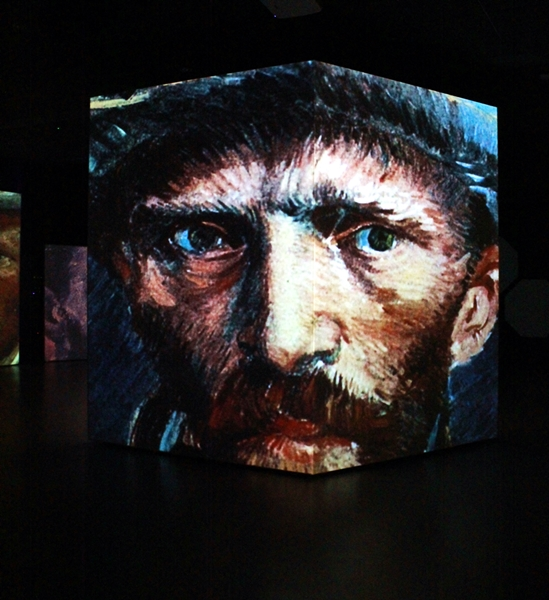 Vincent Van Gogh, Autoritratto con cappello di feltro, 1887, Museo Multimediale, Cosenza – Ph. © Gianni Termine