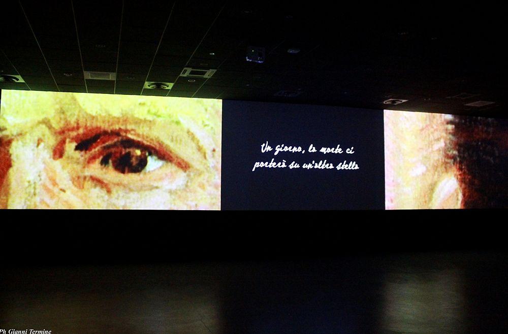 """""""Un giorno la morte ci porterà su un'altra stella..."""", Vincent Van Gogh, Museo Multimediale, Cosenza"""
