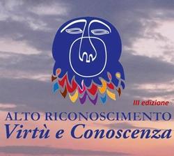 """Logo del premio """"Virtù e Conoscenza"""""""
