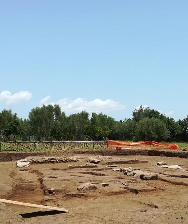 Cantiere archeologico in Loc. Calderazzo, nell'area della colonia magno-greca di Medma, Rosarno (Reggio Calabria)