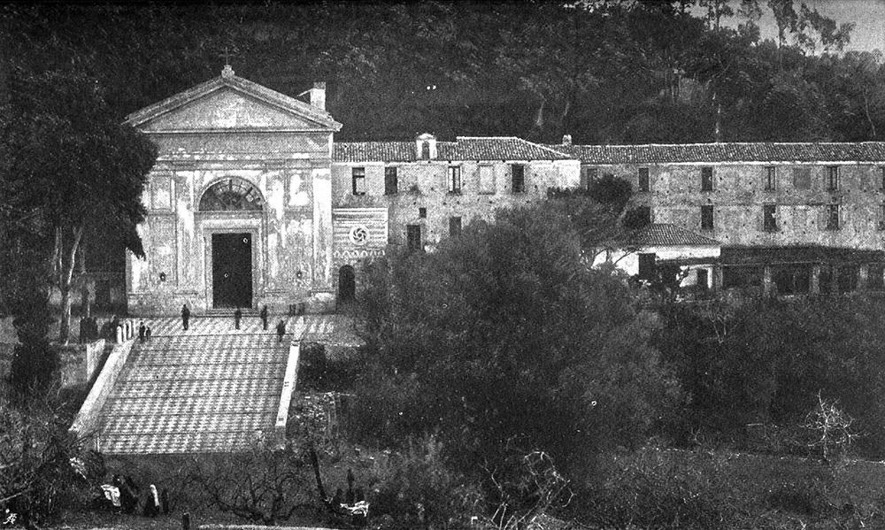 L'Eremo della Madonna della Consolazione prima del terremoto del 1908, Reggio Calabria