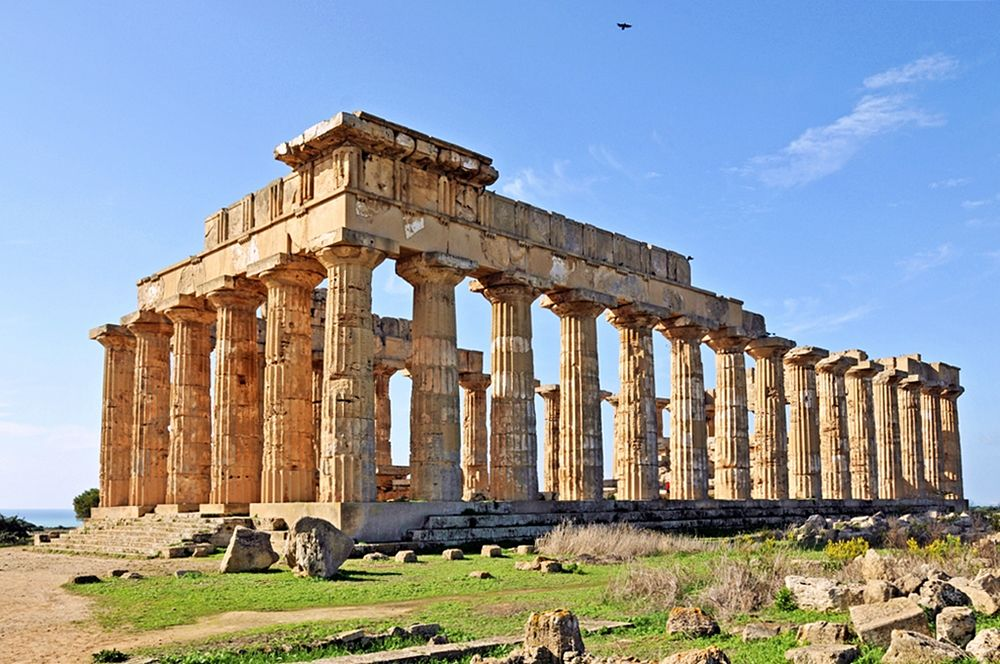 Tempio di Hera, VI sec. a.C., Selinunte (Trapani) - Ph. Dennis Jarvis | ccby-sa2.0