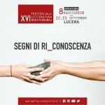 A Lucera torna il Festival della Letteratura Mediterranea. Ad agosto l'anteprima
