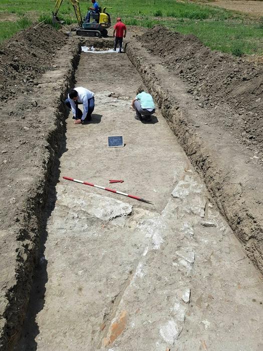 Prime indagini sul sito della villa romana rinvenuta a Bisignano (Cosenza) - Image by SABAP Cs-Cz-Kr