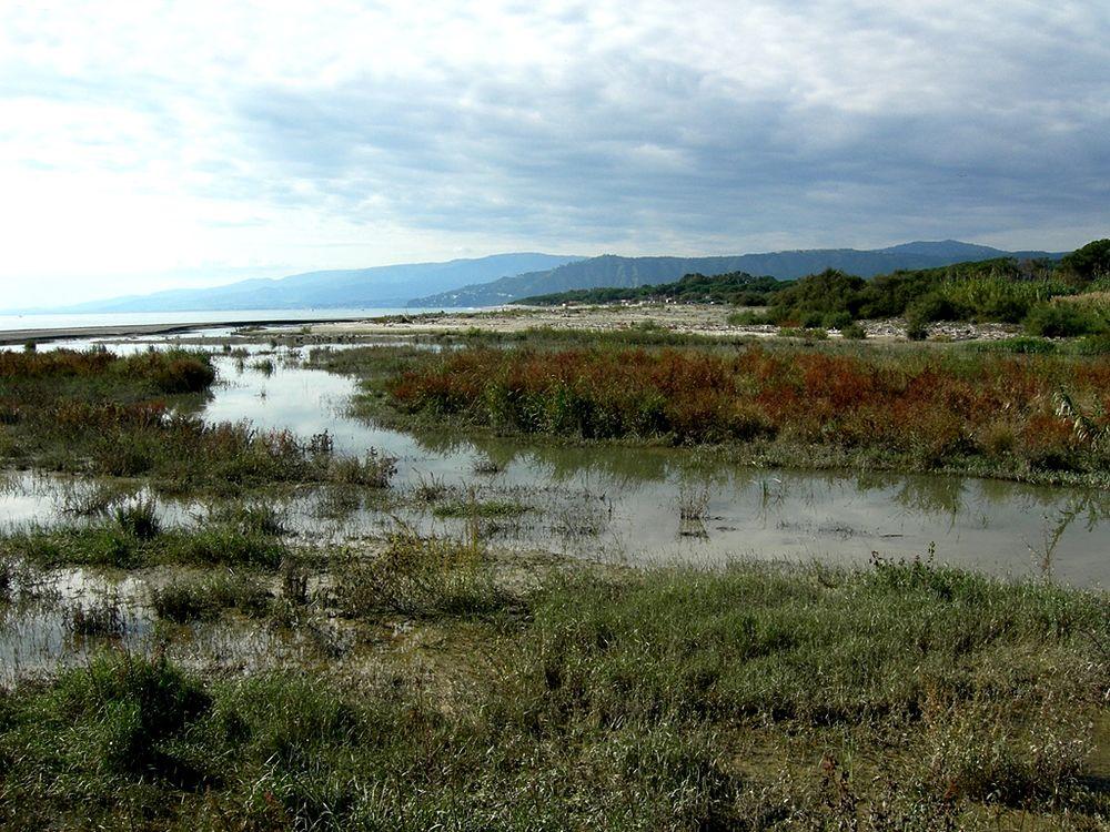 Foce del torrente Corace, Catanzaro