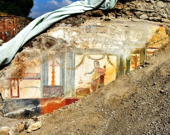 Lo scavo nella domus di Via di Vesuvio - Image by Parco Archeologico di Pompei