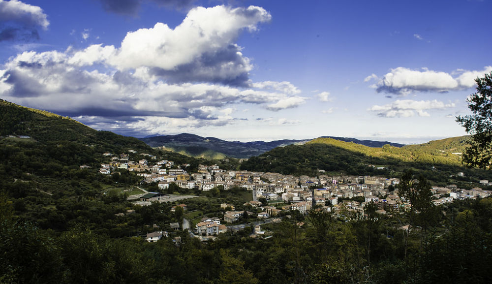 Veduta del borgo di San Sosti (Cs) - Image courtesy Maurizio De Luca