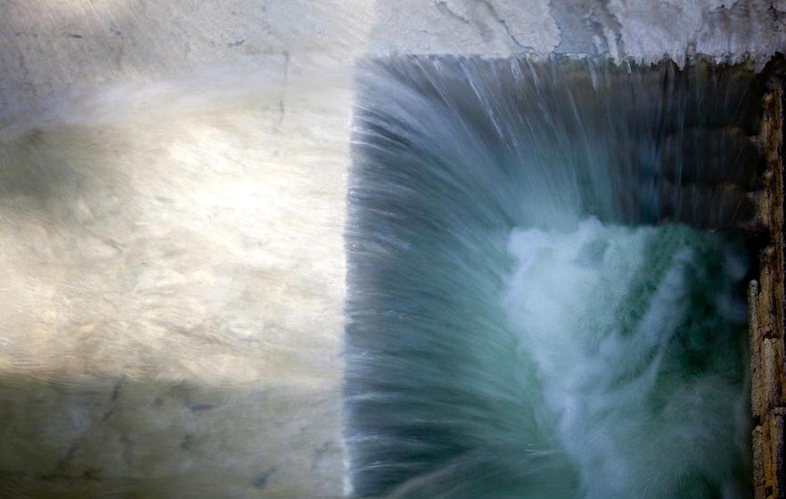 Una delle fonti sulfuree delle Terme Luigiane, Acquappesa (Cs)