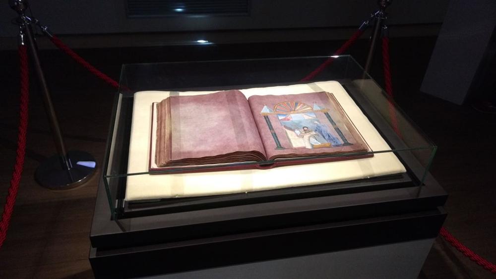 Il Codex esposto nel Museo Diocesano di Rossano - Ph. Grahuederl |ccby-sa4.0