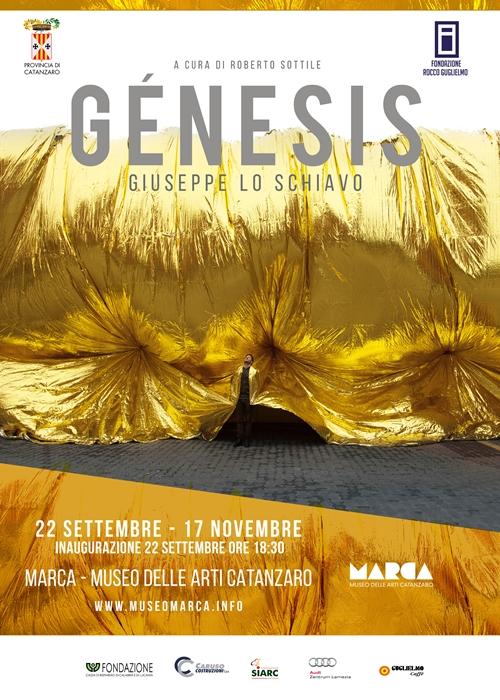 """Giuseppe Lo Schiavo, mostra """"Genesis"""", MARCA, Catanzaro (22 settembre - 17 novembre)"""