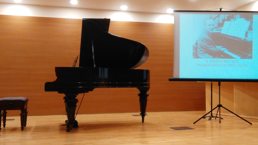 Il pianoforte Schiedmayer  (1892) appartenuto a Nino Rota, Auditorium 'Nino Rota', Bari