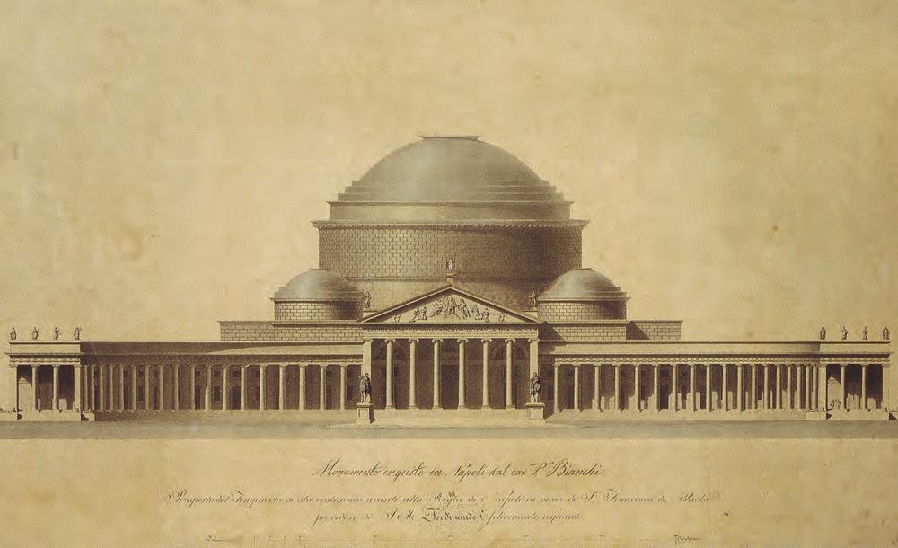 Il progetto di Pietro Bianchi (1816) per la Basilica di S. Francesco di Paola, Napoli