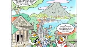 Zio Paperone e il tesoro di Paperonius. Disney rende omaggio a Napoli e al Vesuvio