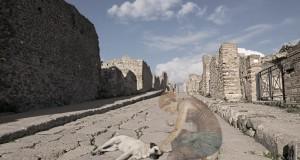 Fantasmi a Pompei: in mostra a Napoli uno sguardo visionario sulla città vesuviana