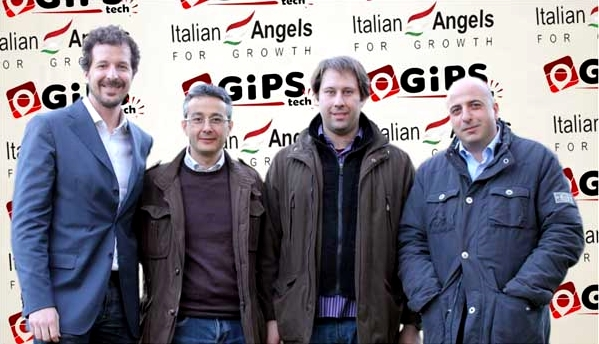 Il team di GIPStech. Da sin.: Matteo Faggin, Gaetano D'Aquila, Giuseppe Cutrì, Giuseppe Fedele - Fonte immagine: StartupItalia