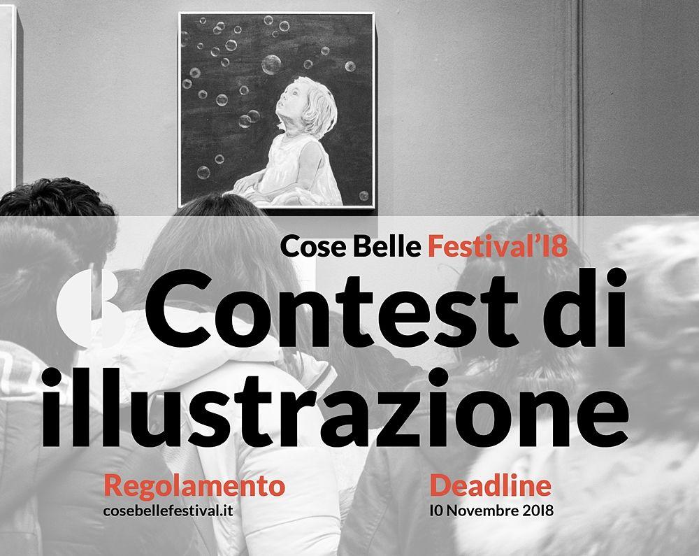 Contest di illustrazione, Cose Belle Festival, Cosenza