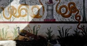 Nel giardino dei 'misteri' domestici: a Pompei riemerge il più grande larario mai trovato