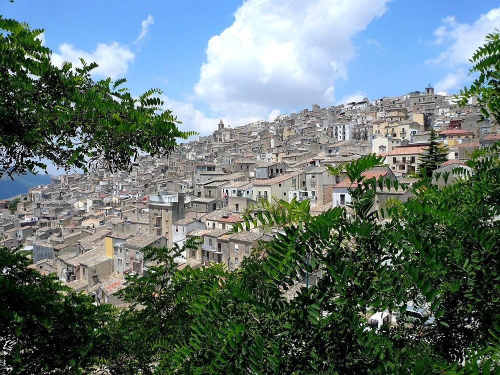 Veduta di Prizzi (Palermo)