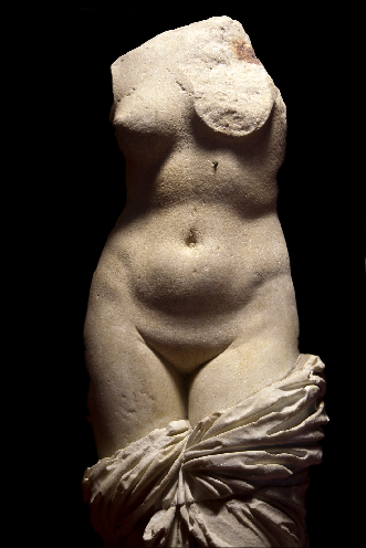 L'Afrodite di Sinuessa, Museo Archeologico Nazionale, Napoli