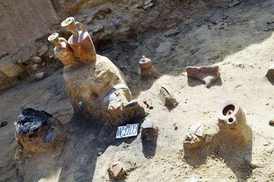 Ritrovamenti nella necropoli di Himera - Fonte: Soprintendenza Archeologica Palermo