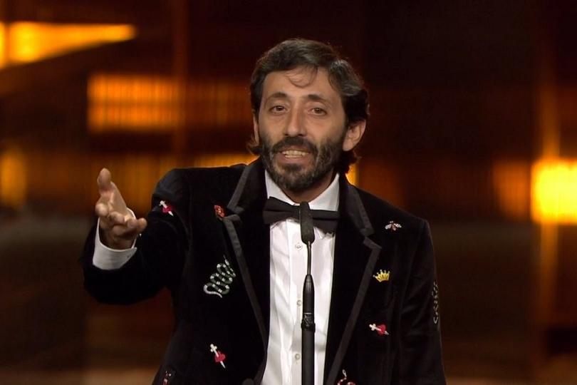 Marcello Fonte agli EFA Awards 2018