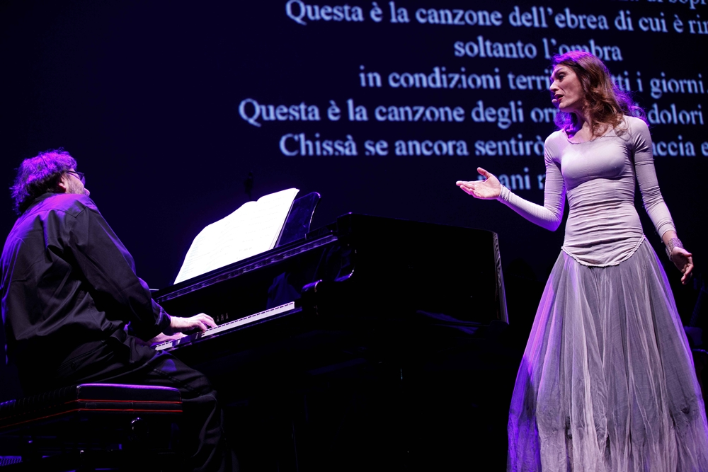Francesco Lotoro e Cristina Zavalloni, Auditorium Parco della Musica, Roma - Image by Musadoc