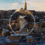 La poesia della neve a Matera, nel video dell'olandese Caspar Daniël Diederik