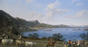 Riappare a Londra una splendida veduta di Salerno, in mostra a Caserta da settembre