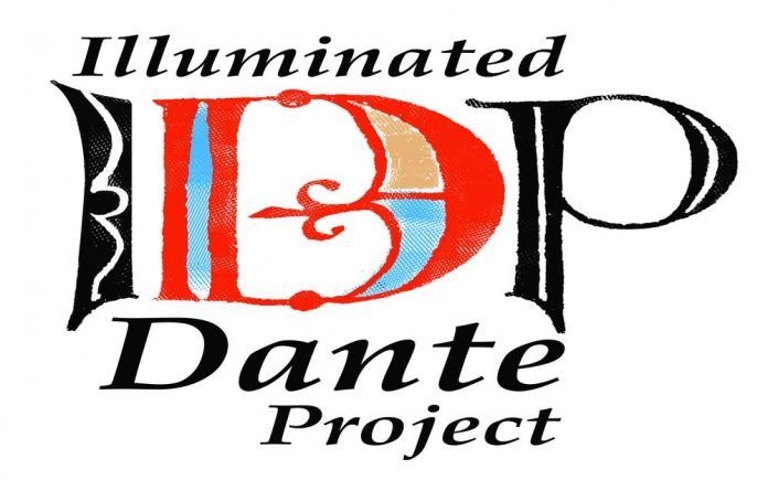 Il logo del progetto Illuminated Dante Project
