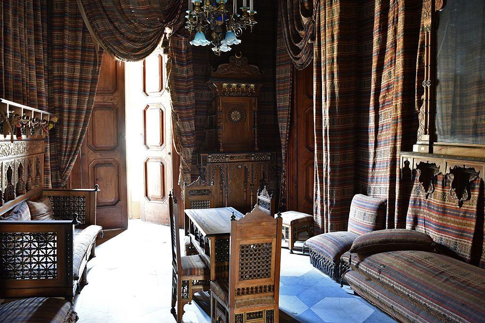 Interno del palazzo Gagliardi-De Riso, XIX sec., Vibo Valentia
