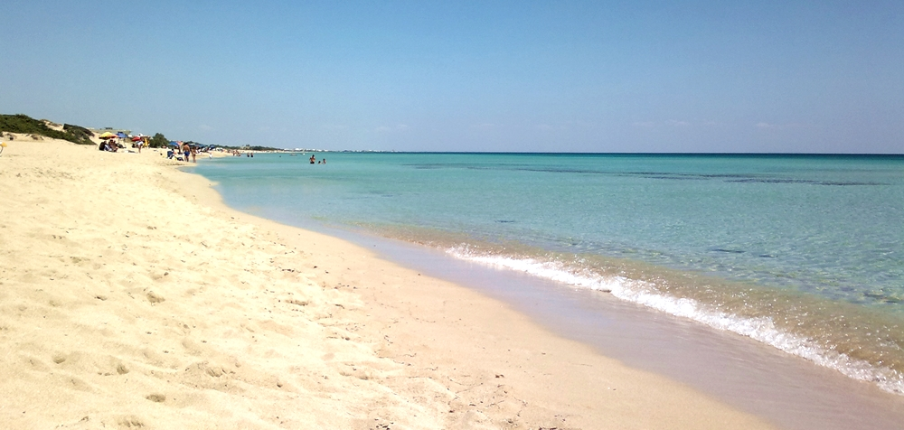 Scorcio della spiaggia di S. Pietro in Bevagna (TA) - Ph. Alberto Morrone   ccby3.0