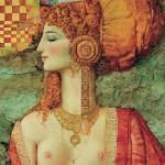 Le enigmatiche 'Veneri' del calabrese Costantino Di Ciancio, artista cosmopolita