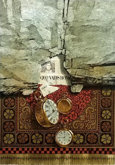 Costantino Di Ciancio, L'età del tempo, tecnica mista