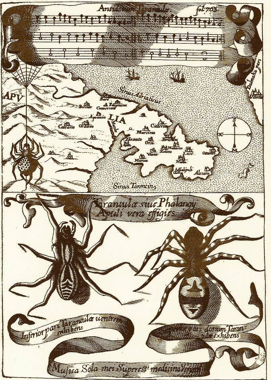 Antidotum-Tarantulae.-Dal-Magnes-sive-de-magnetica-arte-1644-del-P.-Atanasio-Kircher
