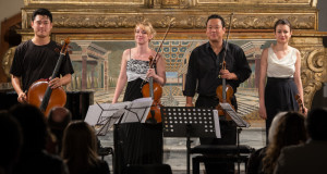 """Intimate voices and magical sounds with the Bari International Music Festival. Sherezade Panthaki and Liya Petrova shining """"stars"""" in the Bari night"""