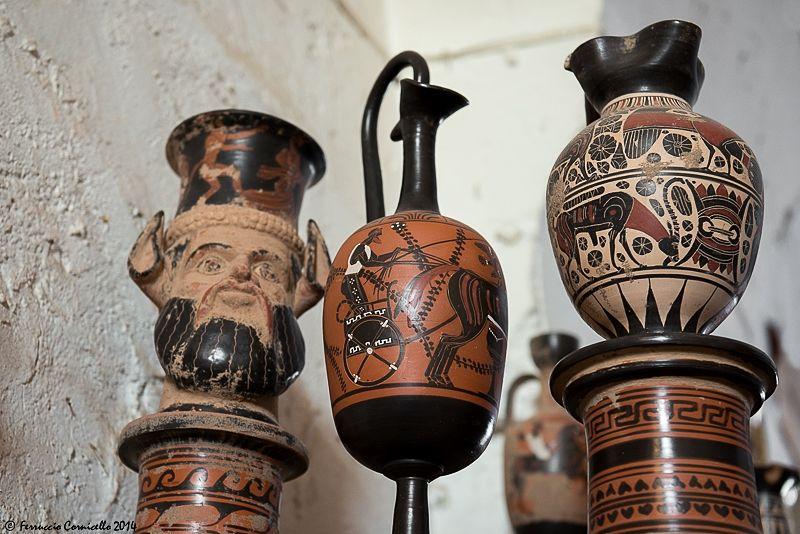 Giuseppe anti vive a grottaglie l ultimo ceramista greco for Vasi antica grecia