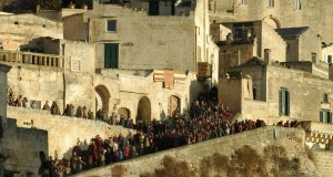 """MateraMovie, la Gerusalemme del Cinema: nei Sassi si gira il remake di """"Ben Hur"""""""