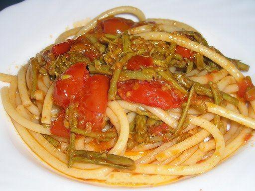 Ricette di pasta con asparagi selvatici