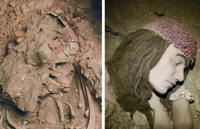 La donna paleolitica di Ostuni (Brindisi)