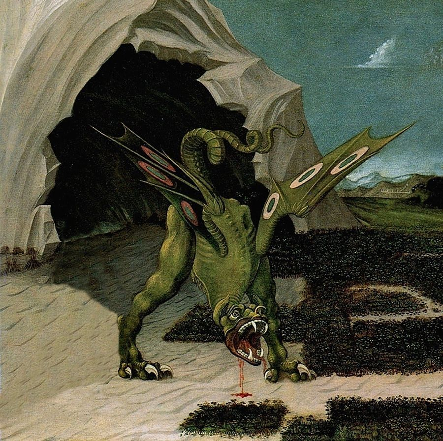 Drago, XV sec. (da Paolo Uccello)