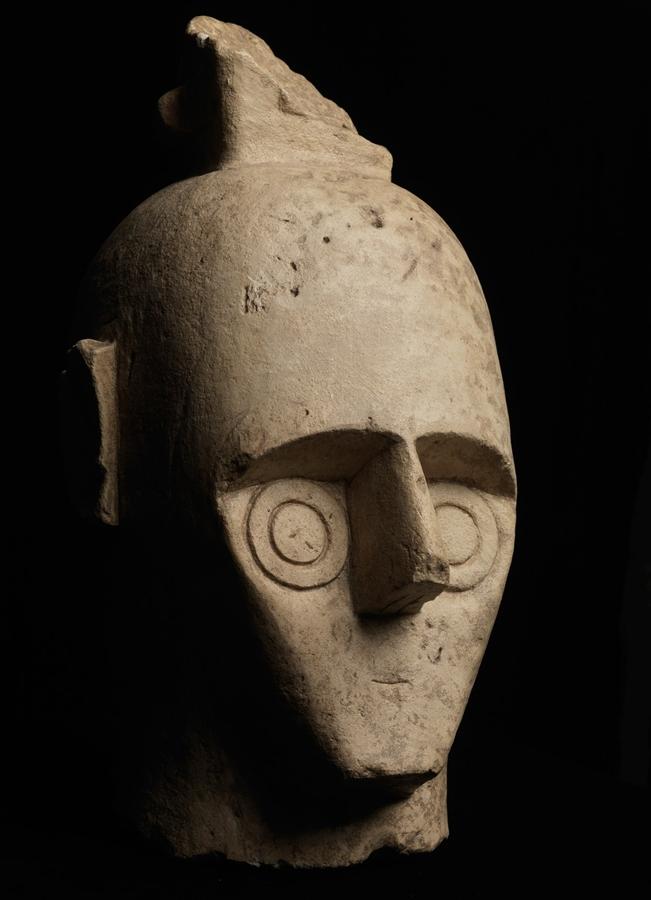 Sardegna - Testa di uno dei Giganti di Mont'e Prama, X-VIII sec. a.C.