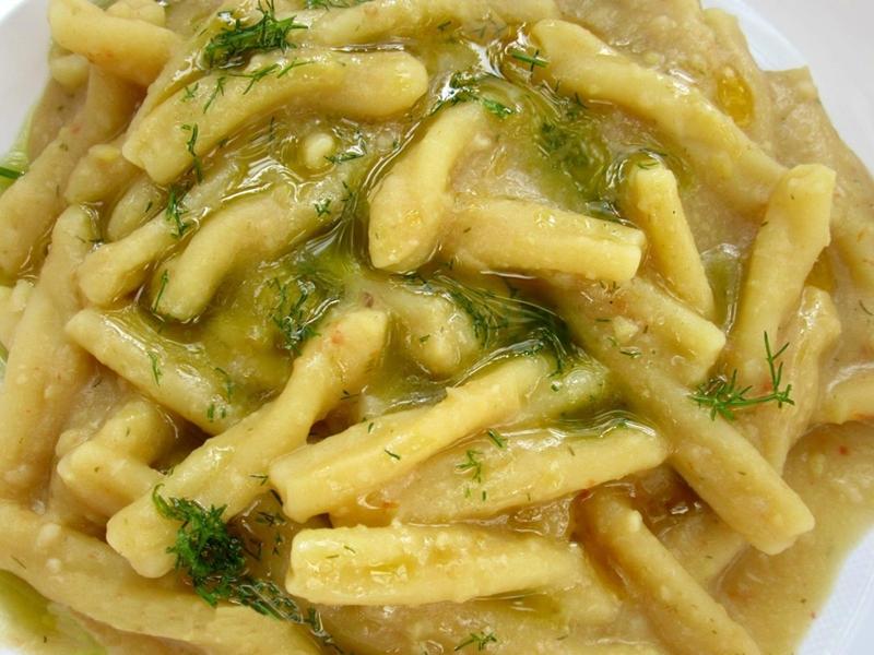 Risultati immagini per macco di fave con finocchietto selvatico pasta