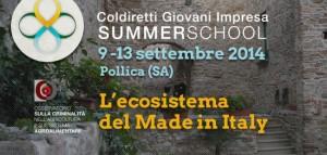 Investire in Italia: su iniziativa di Coldiretti Giovani Impresa nasce a Pollica la Summer School sul Made in Italy